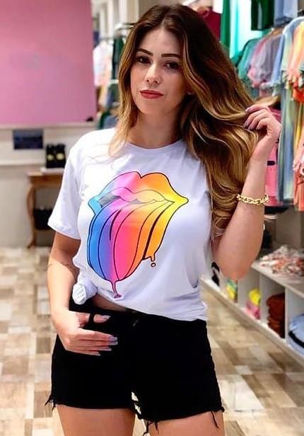 T-Shirt Stones Colors ATN 59