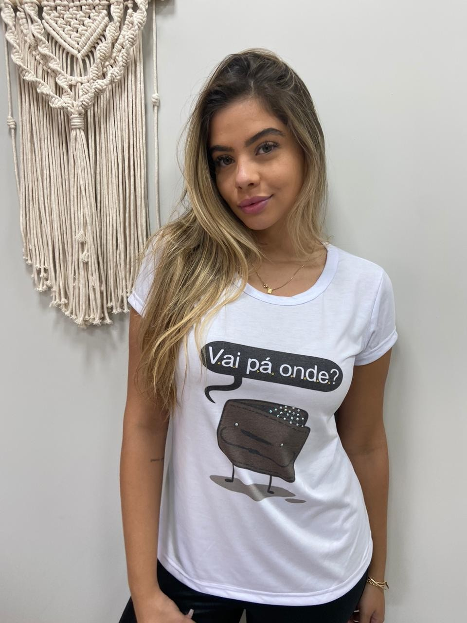 T-Shirt Vai Pá Onde DAJ 21