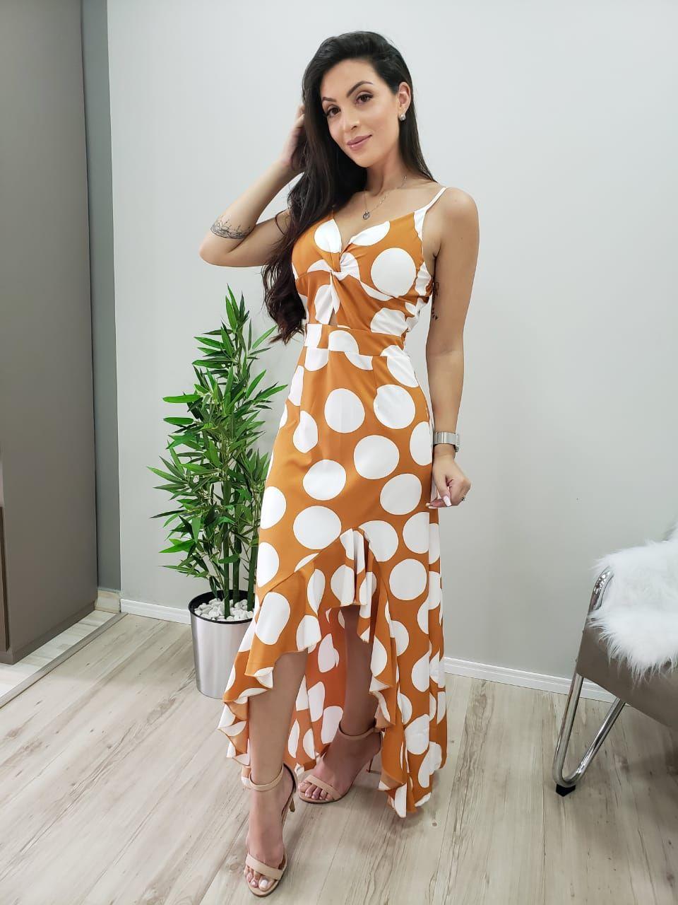 Vestido Alcinha Poá PLT 78