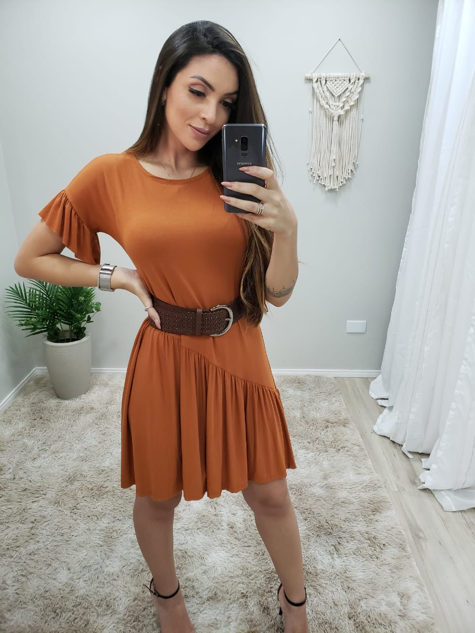 Vestido Babados Yasmin MLL 292