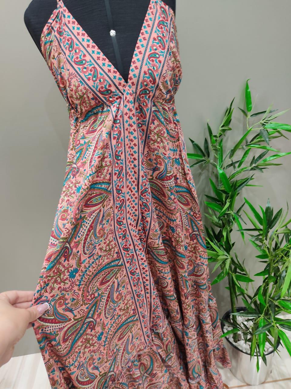 Vestido Indian Barrado VIN 37
