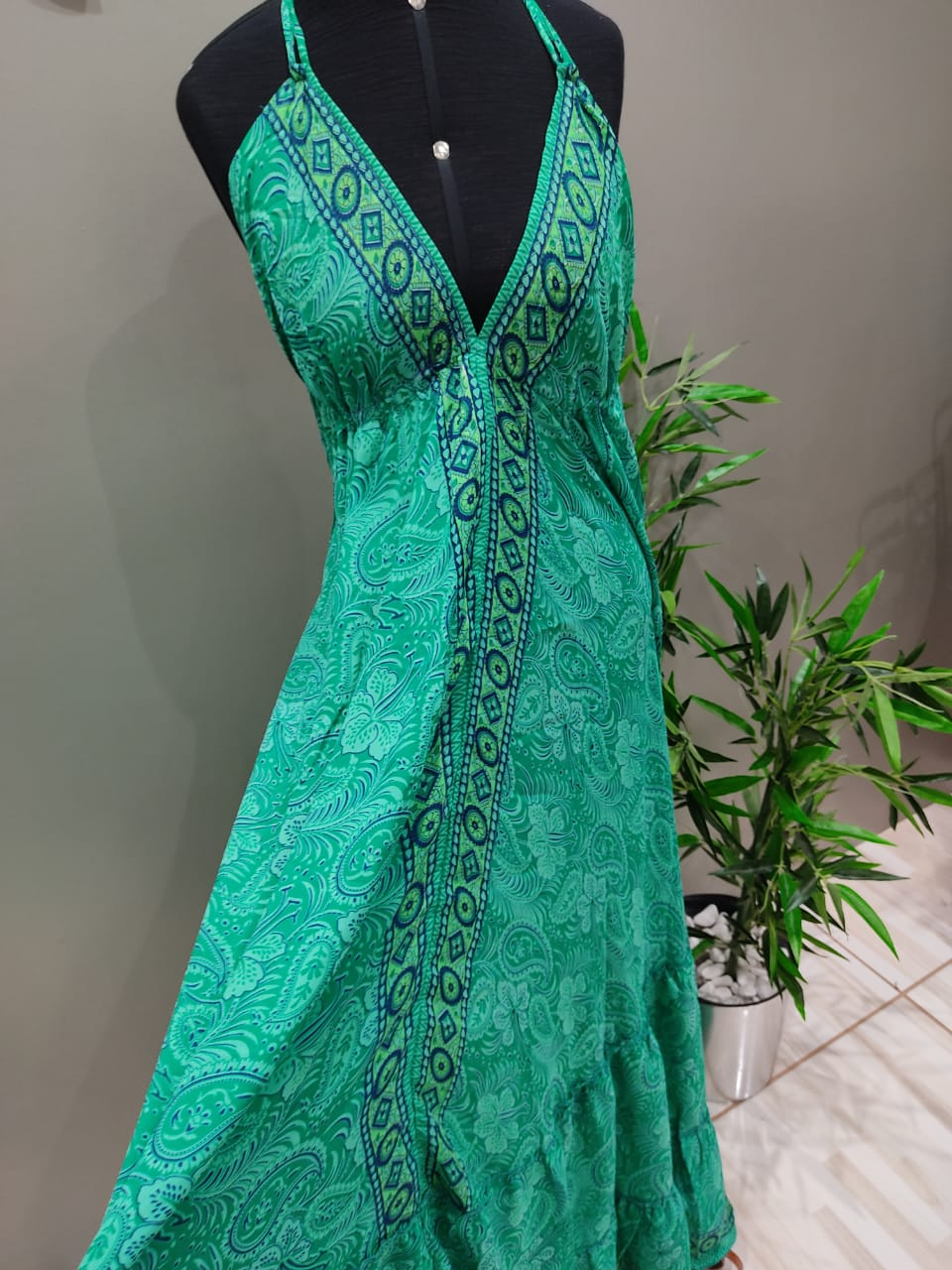 Vestido Indian Barrado VIN 42