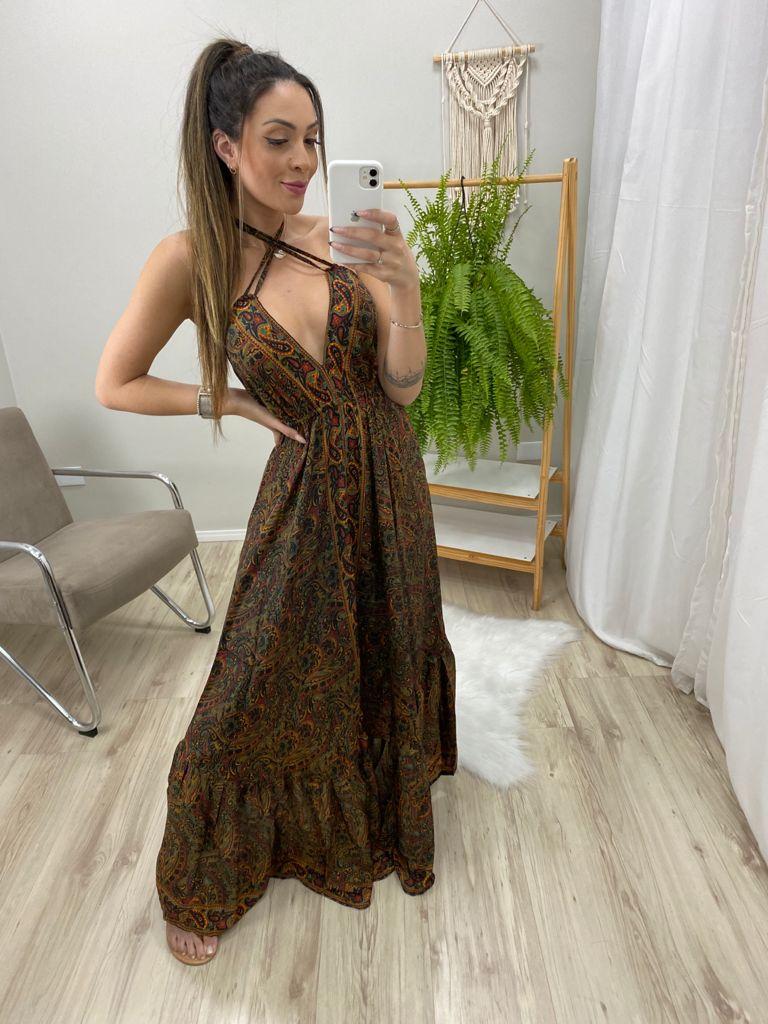 Vestido Indian Barrado VIN 65