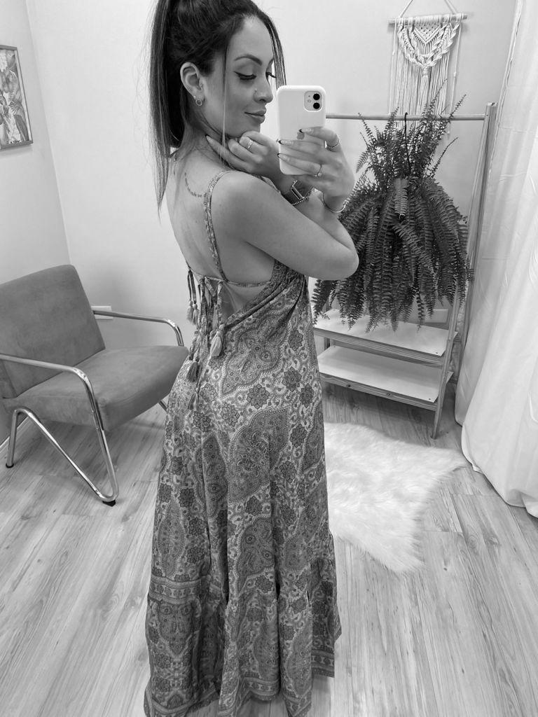 Vestido Indian Barrado VIN 69