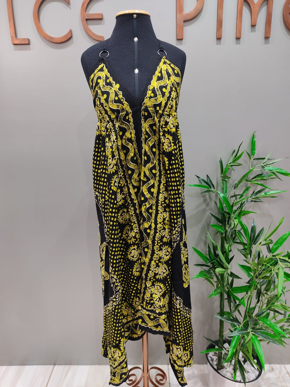 Vestido Indian Lenço VIN 24
