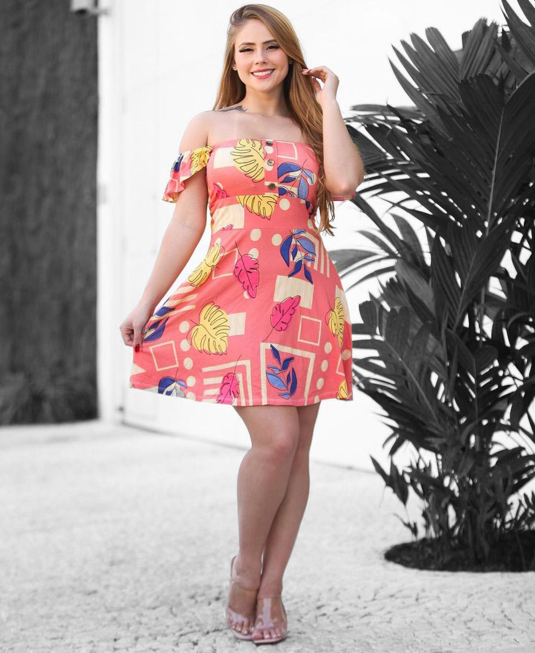 Vestido Isla Pasion ROR 94 - Estampas Variadas