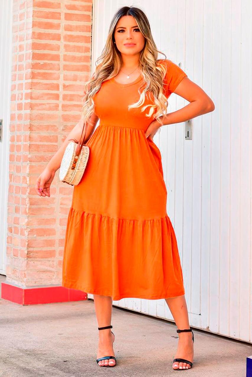 Vestido Manguinha Braga MLL 341
