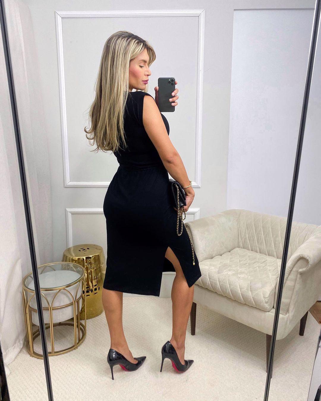 Vestido Summer Dress MLL 369 - Preto