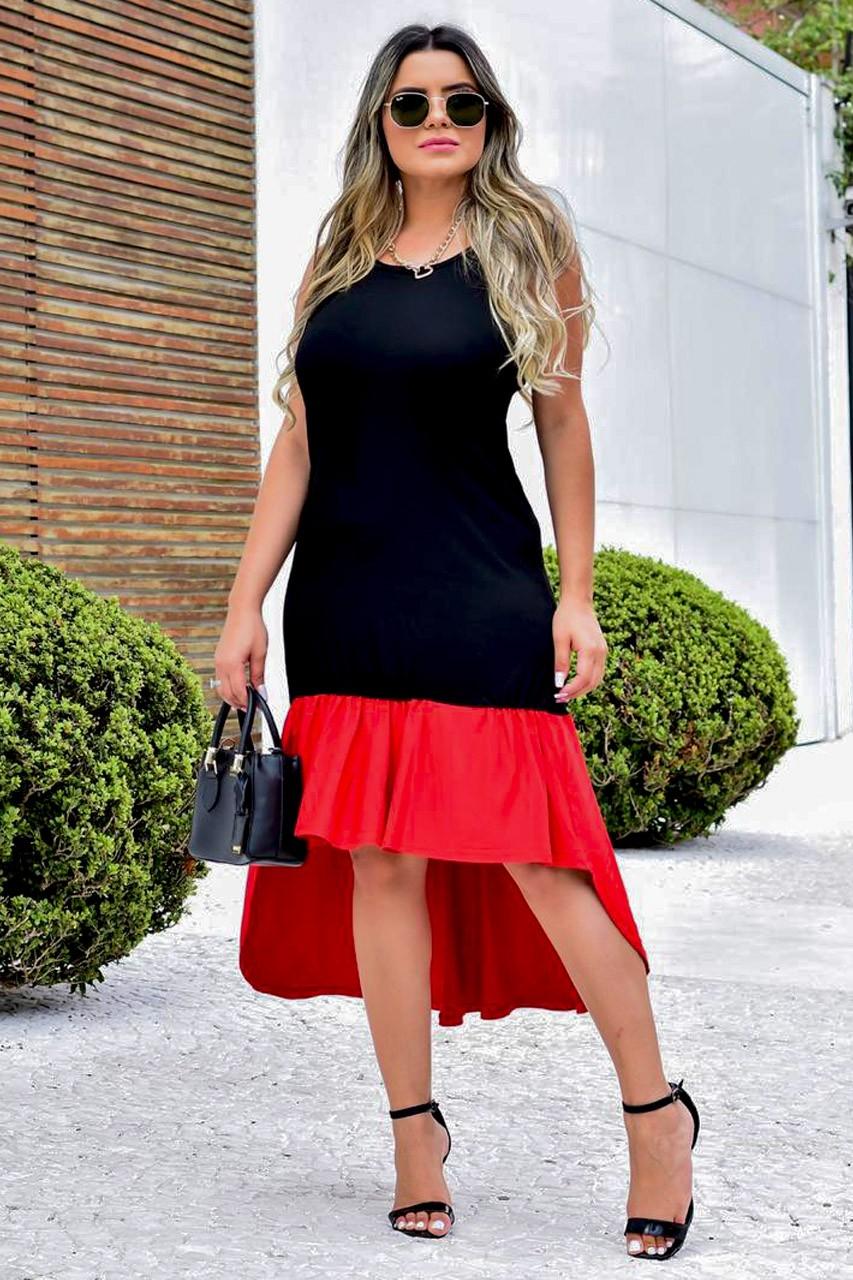 Vestido Viscolycra Évora MLL 334