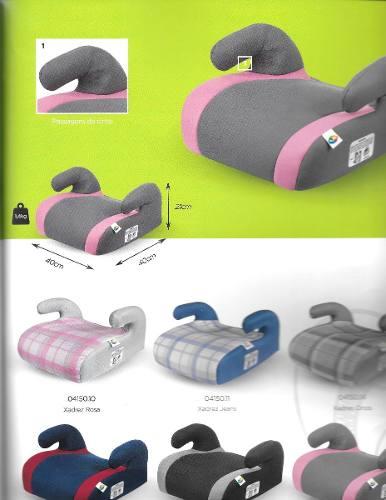 Assento Safety Comfort Preto Cinza Tutti Baby