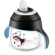 Copo Pinguim Preto 200Ml Avent SCF751/03