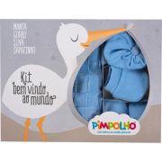 Kit Bem Vindo ao Mundo Azul Pimpolho