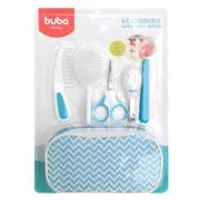 Kit Cuidados Baby com Estojo Azul Buba