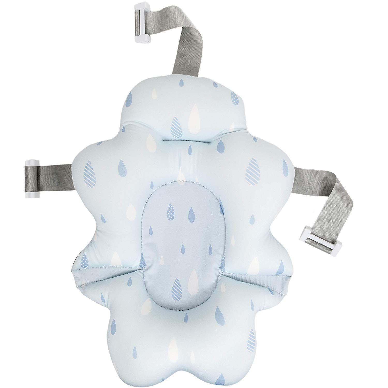 Almofada Banho com Fivela Ajustável Azul Buba