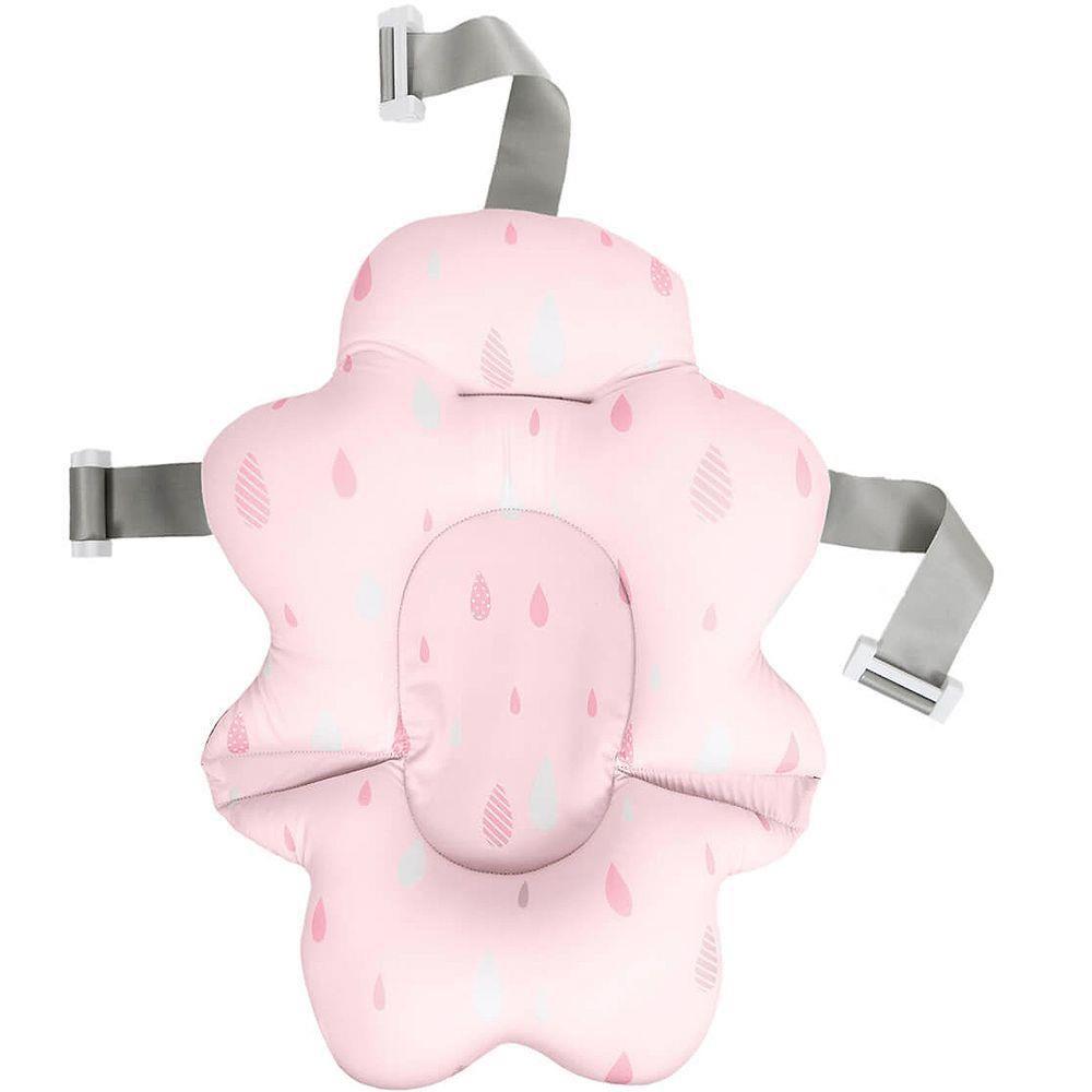 Almofada Banho Com Fivela Ajustável Rosa Buba