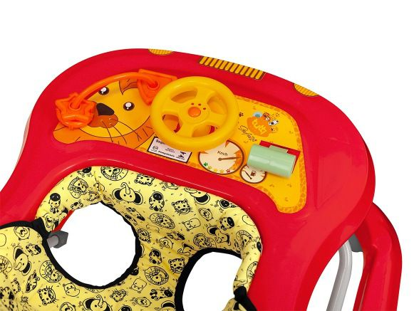 Andador Vermelho Tutti Baby