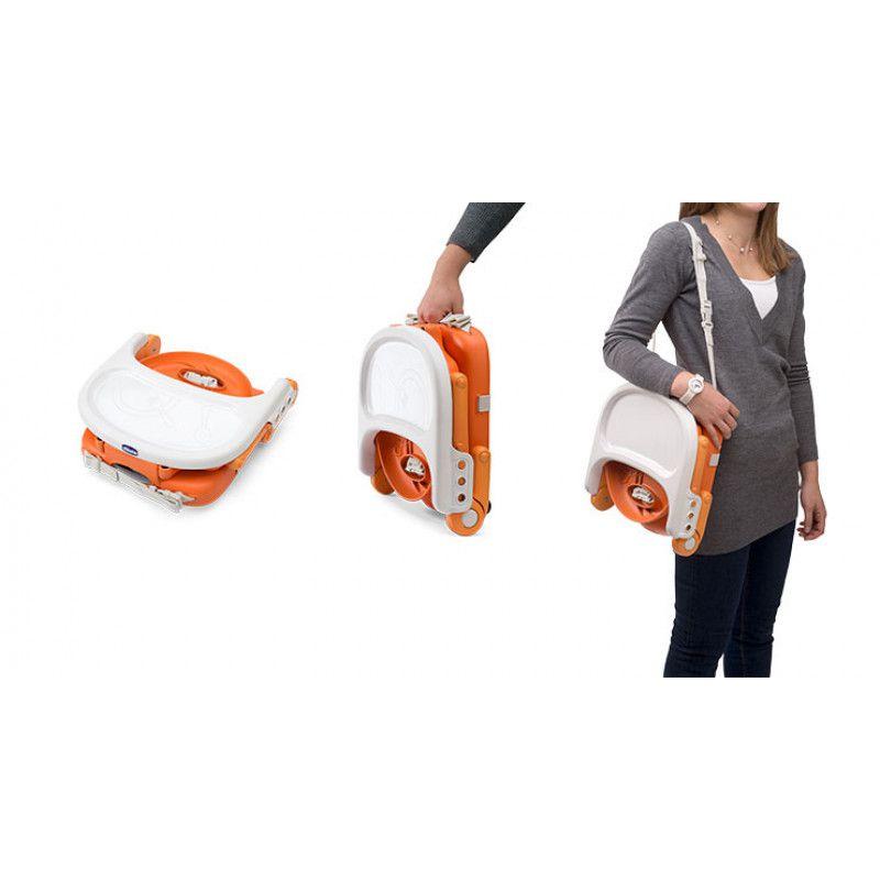 Cadeira Alimentação Assento Elevatório Pocket Snack Mandarino Chicco