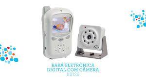 Babá Eletrônica Digital c/ Câmera Baby Talk BB126 Multikids