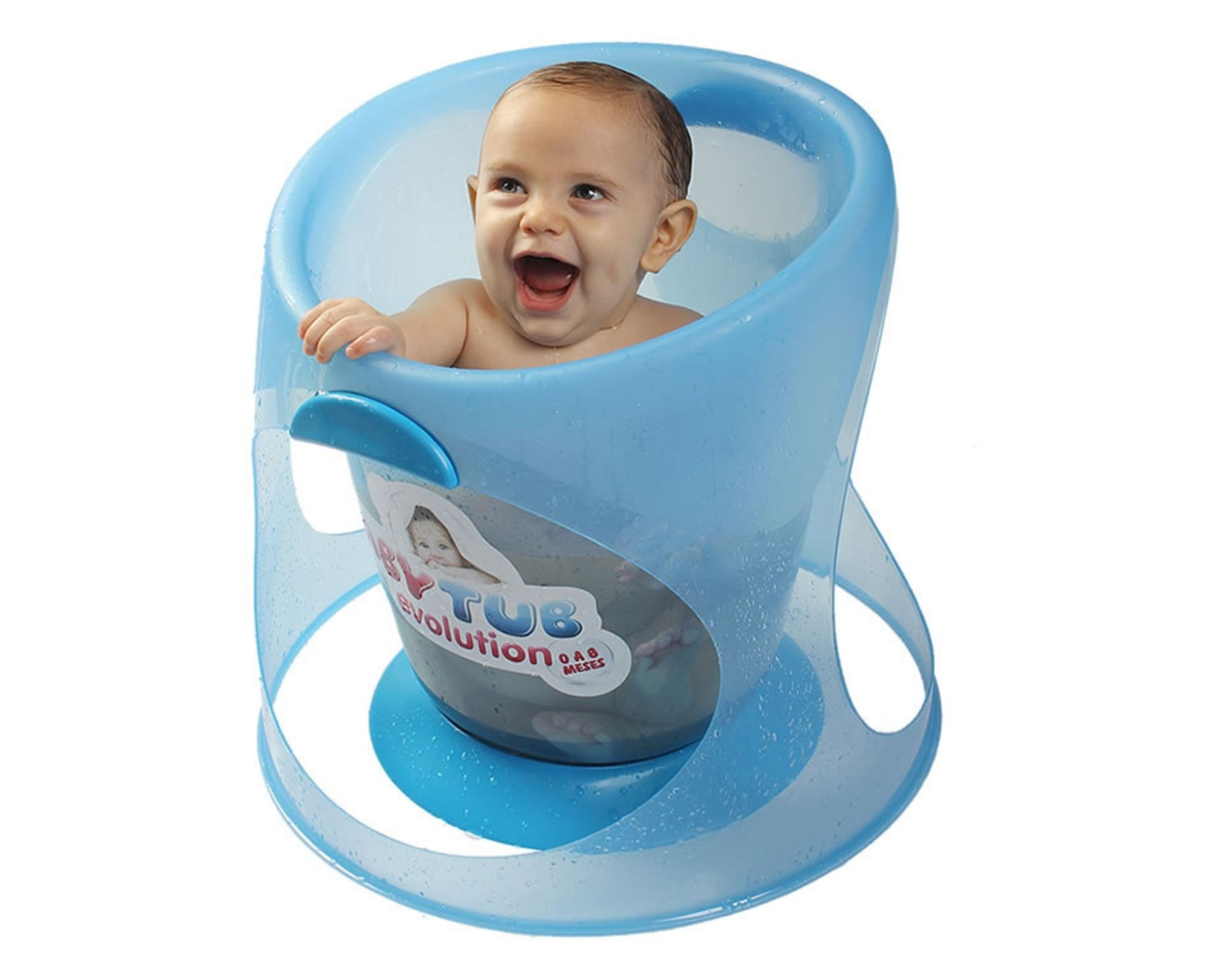 Banheira Babytub Evolution Verde Água 0-8 meses