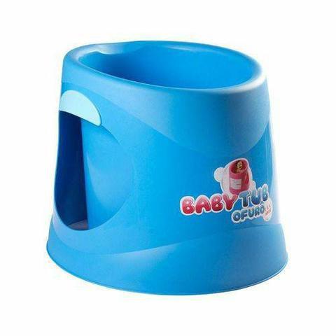 Banheira Babytub Ofurô Azul 1-6 anos