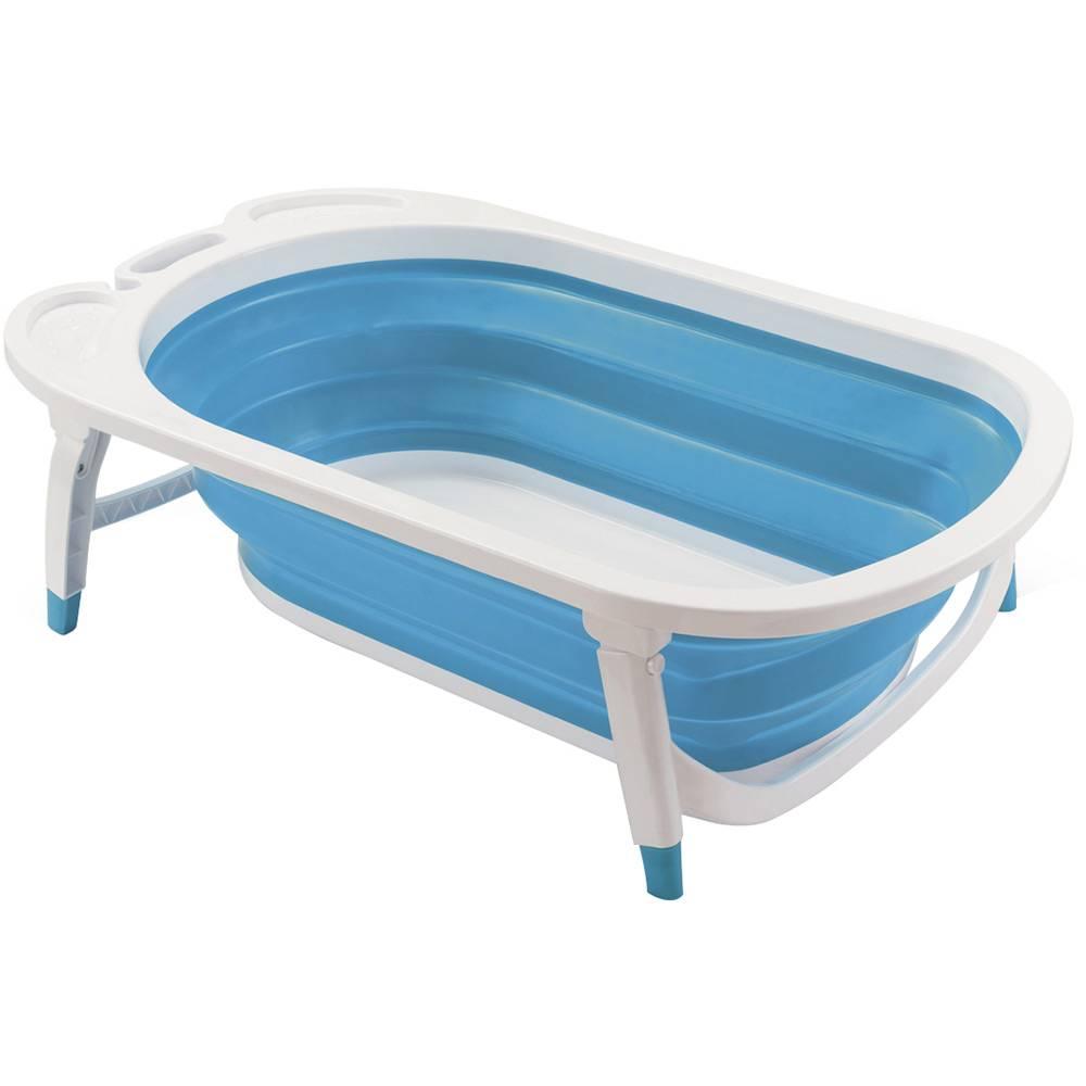 Banheira Dobrável Flexi Bath Azul Multikids