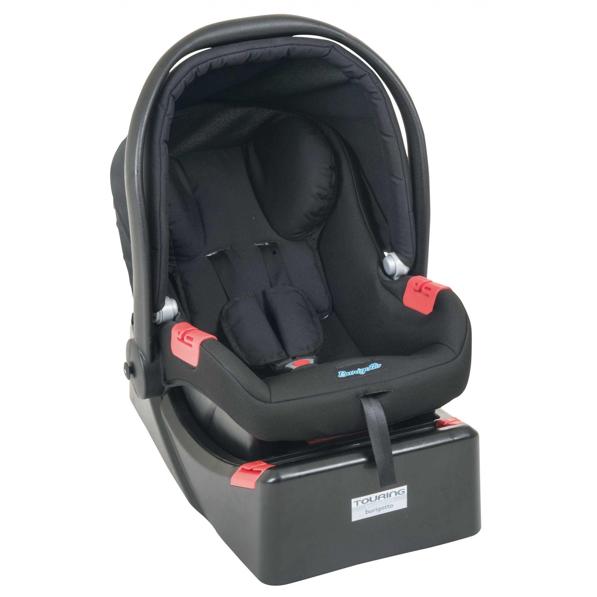 Base Bebê Conforto Touring Evolution Preto Burigotto