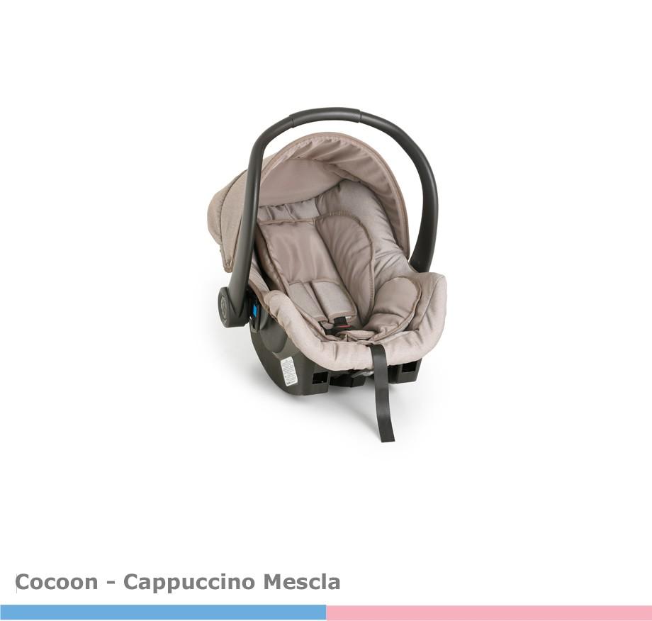 Bebê Conforto Cocoon Cappuccino Mescla Galzerano