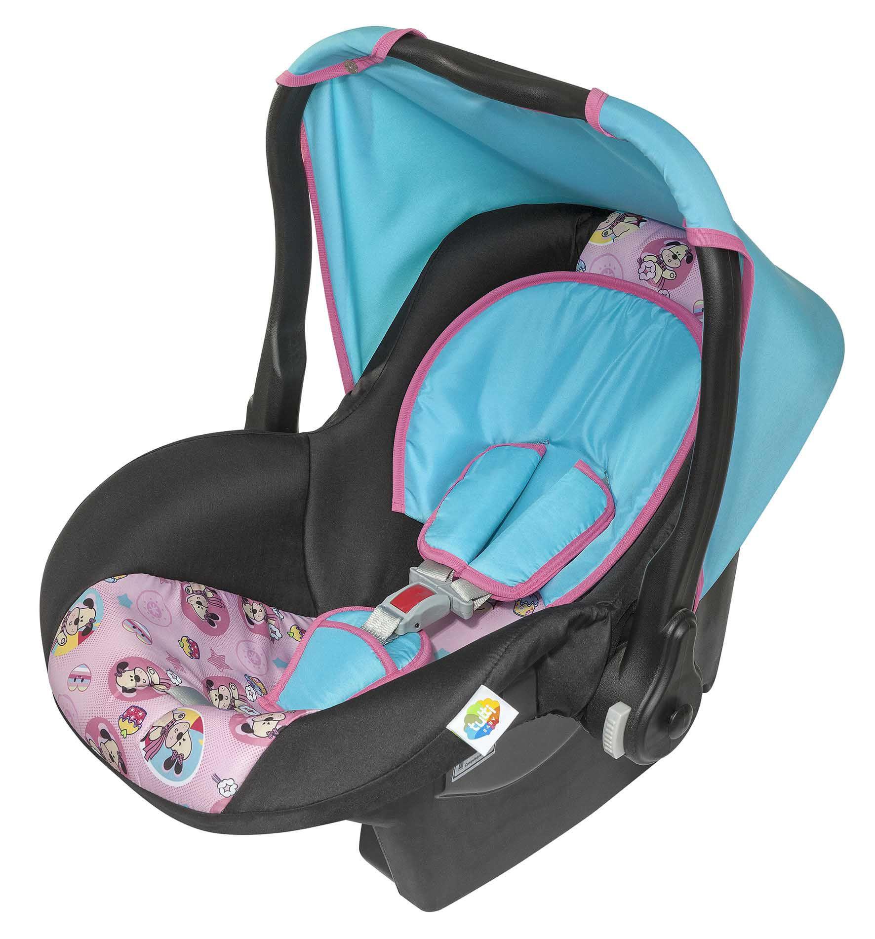 Bebê Conforto Menina Supreme Rosa Tutti Baby