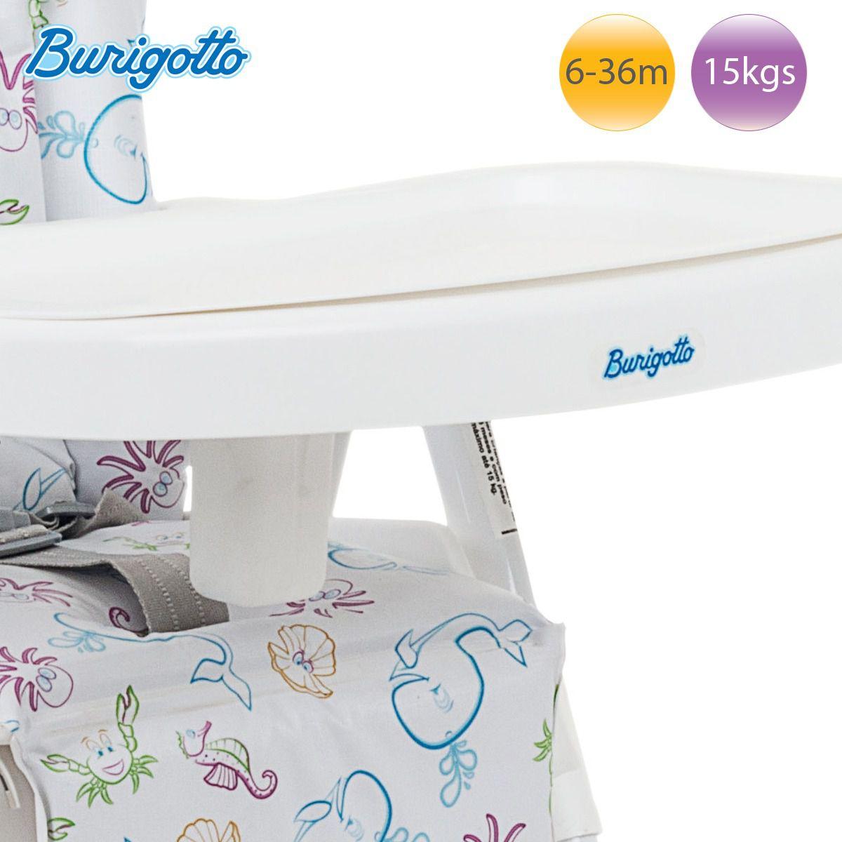 Cadeira Alimentação Merenda Oceano Burigotto