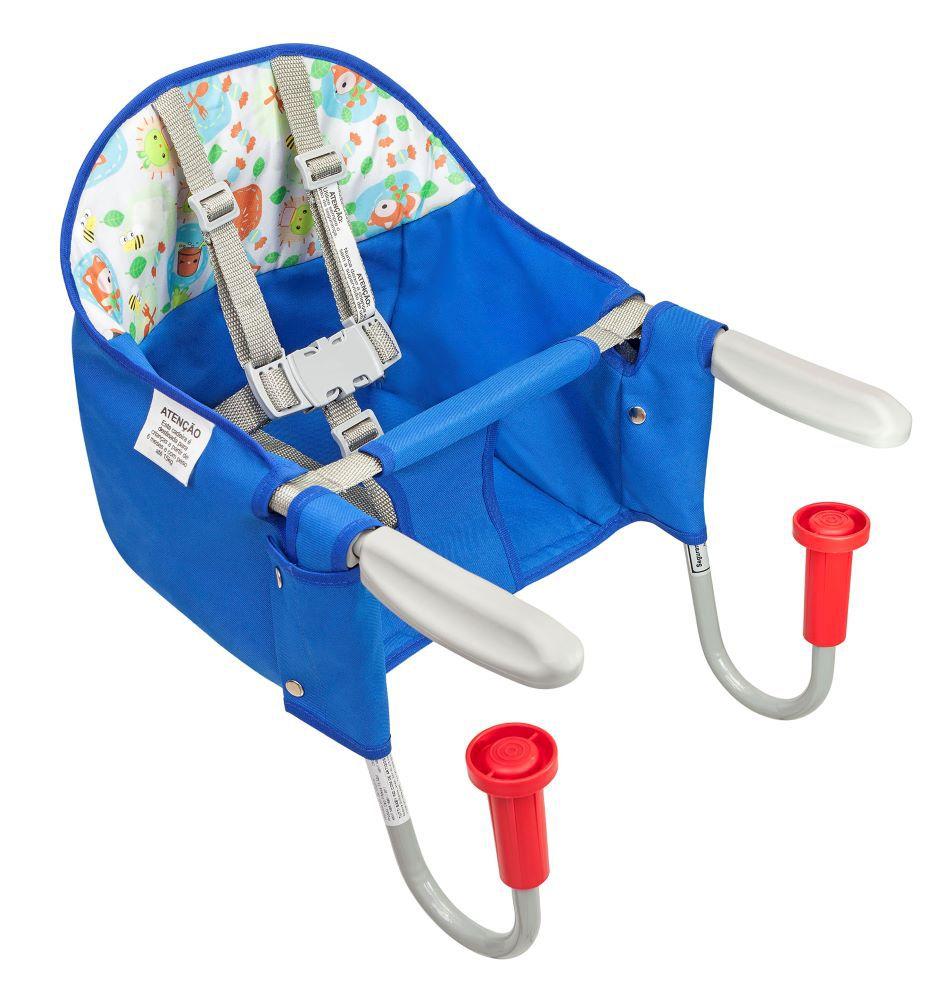 Cadeira Alimentação Mesa Fit Azul