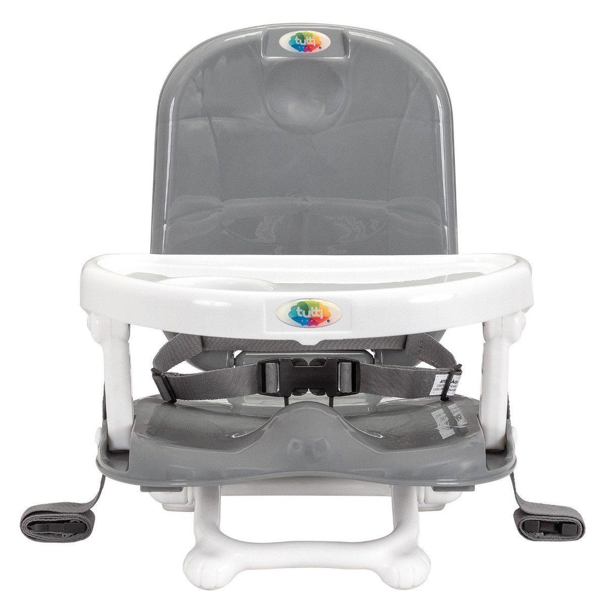 Cadeira Alimentação Portátil Papinha Cinza