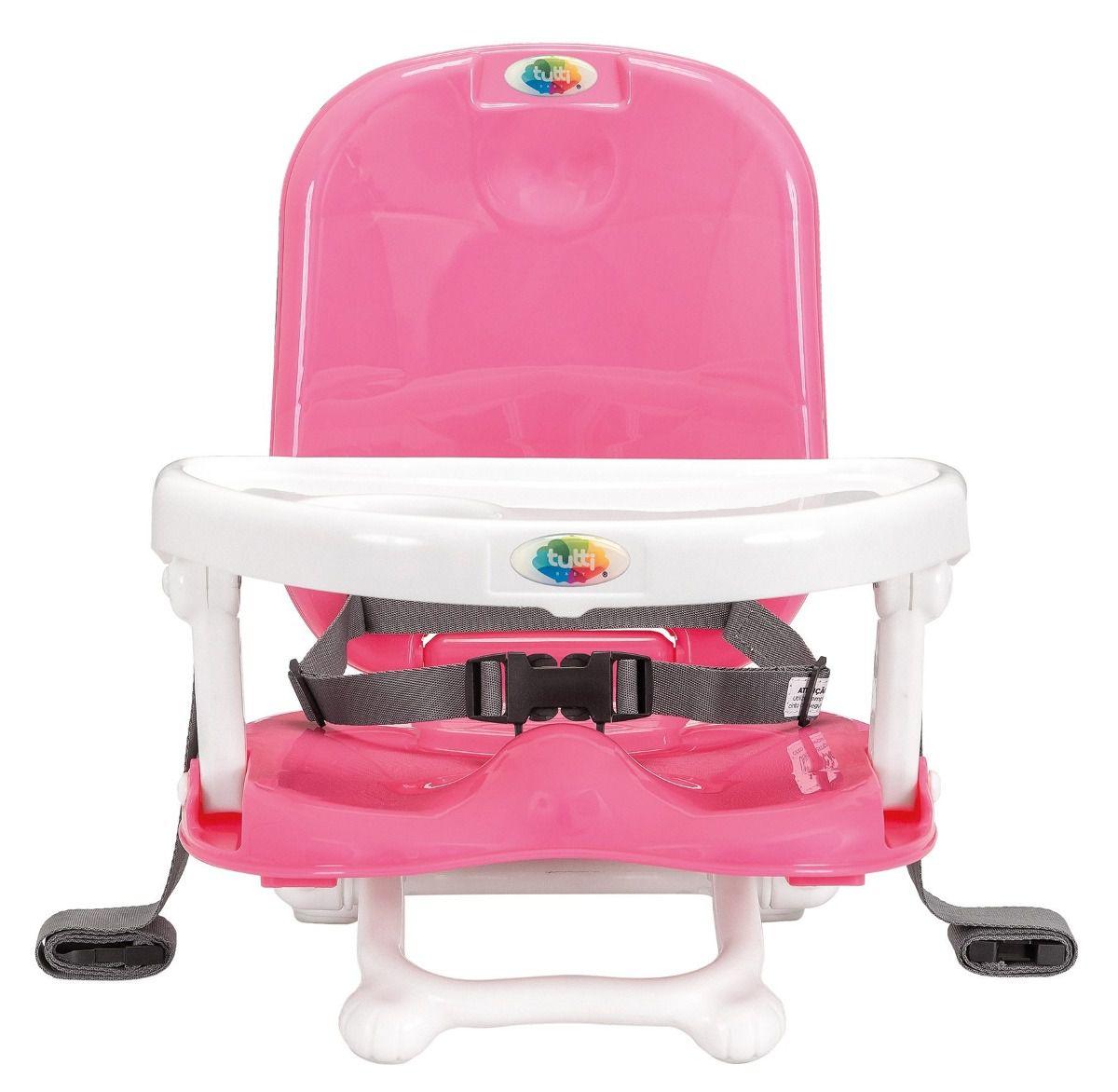 Cadeira Alimentação Portátil Papinha Rosa