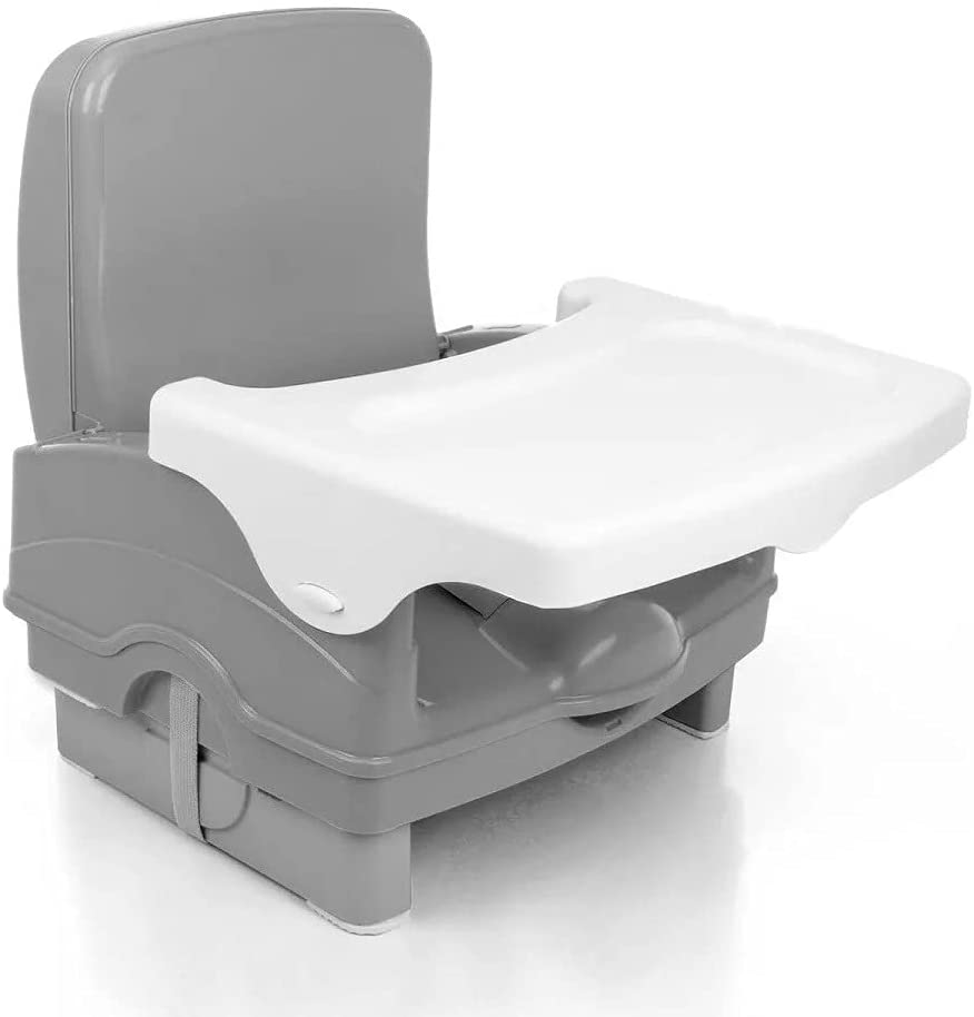 Cadeira de Alimentação Portatil Cake Voyage Cinza