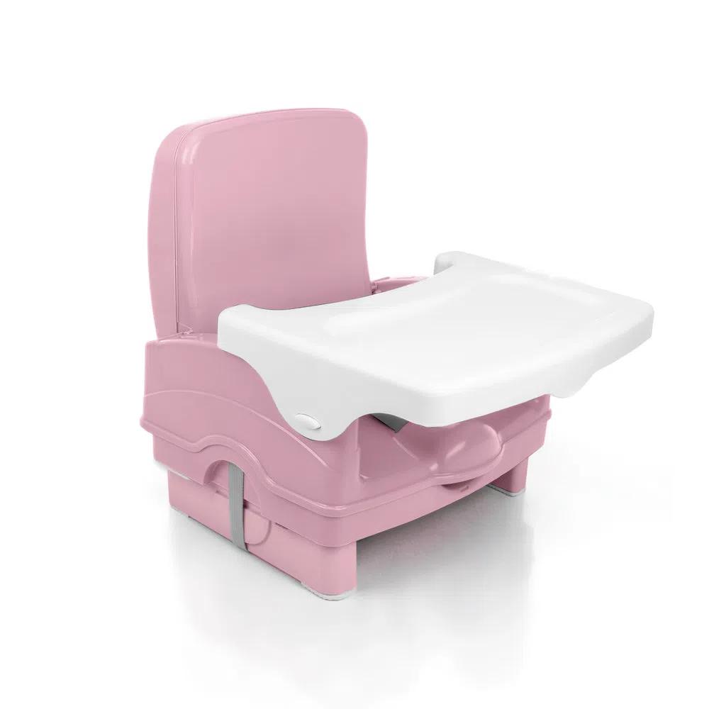 Cadeira de Alimentação Portátil Cake Voyage Rosa