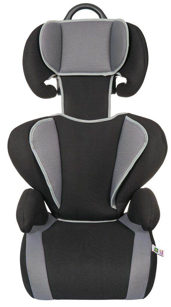 Cadeirinha Carro Safety & Comfort Preto Cinza