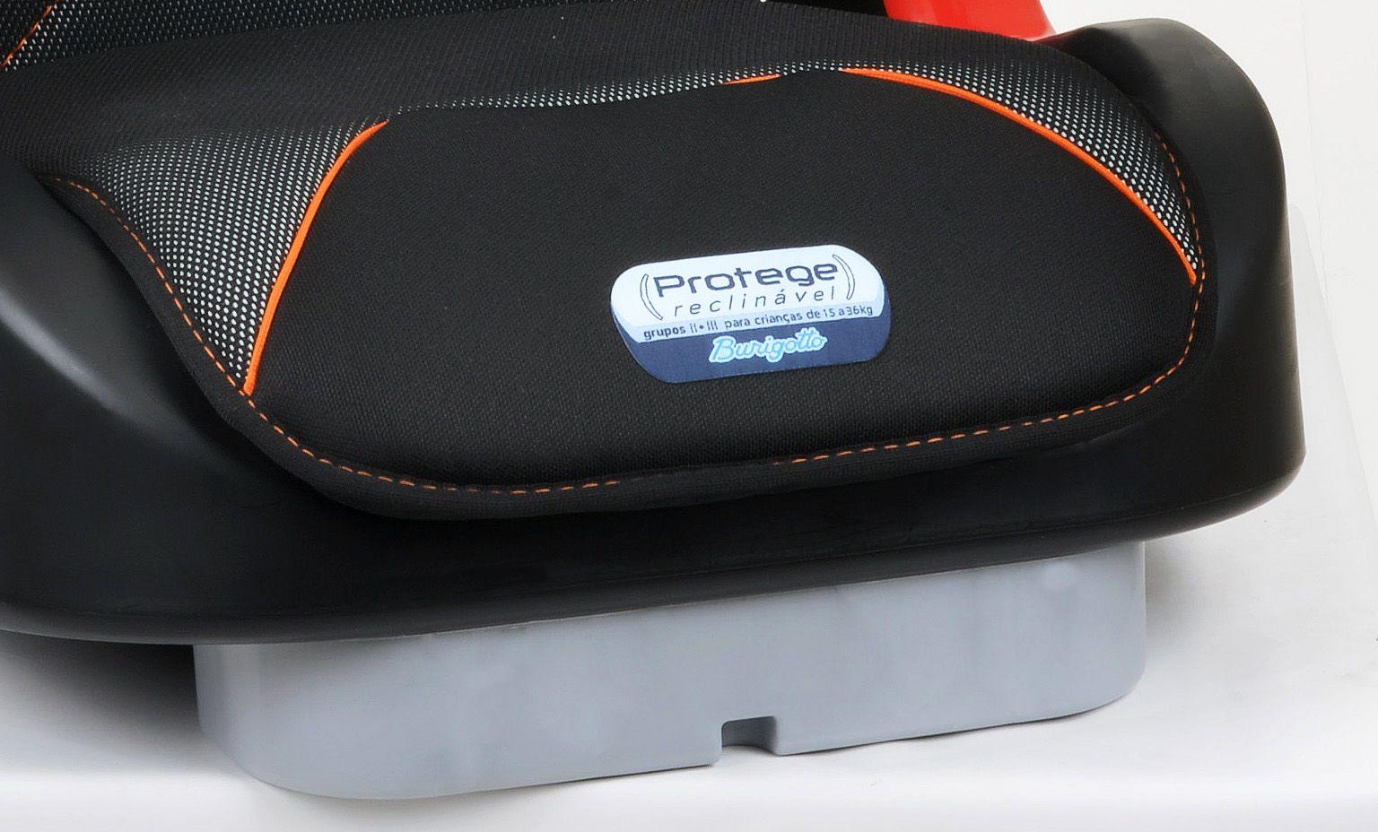 Cadeirinha Carro Protege Reclinável Cyber Orange Burigotto