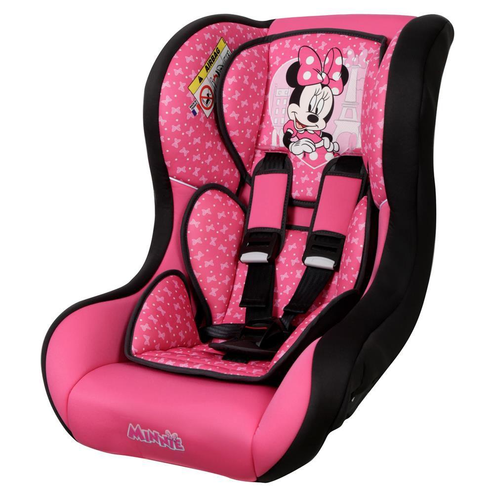 Cadeirinha Carro Disney Trio SP Comfort Minnie Mouse Paris Teamtex