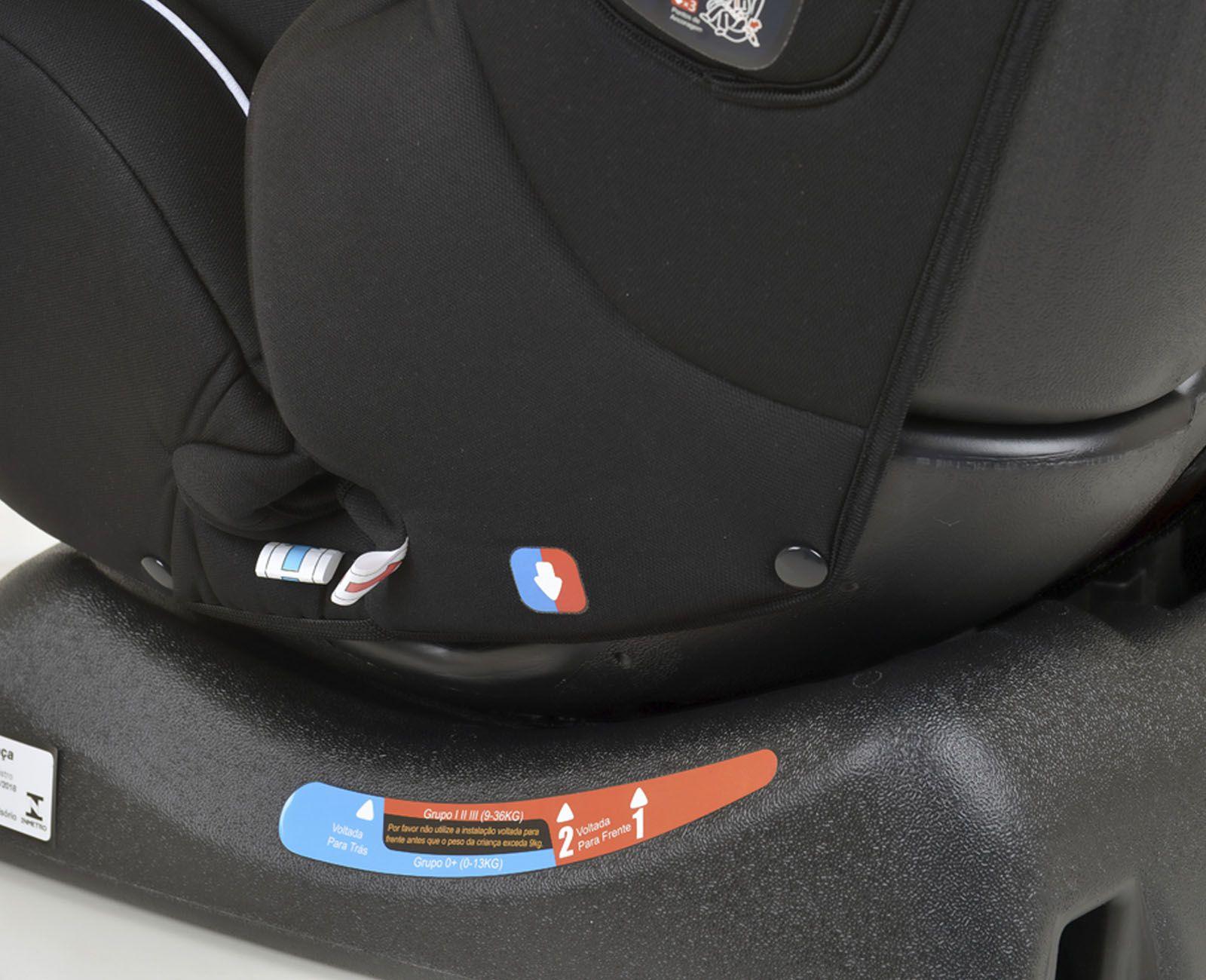 Cadeirinha Carro Infinity Black Burigotto