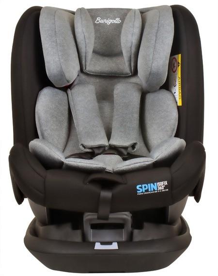 Cadeirinha Carro Spin Isofix 360 9-36 kg Gray Burigotto
