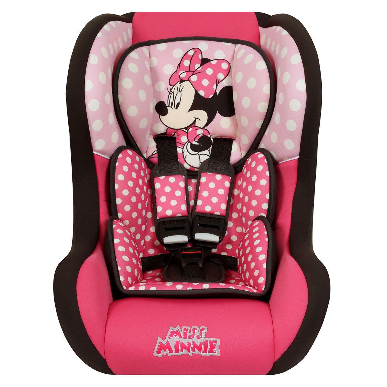 Cadeirinha Carro Disney Trio SP Comfort Minnie Mouse Teamtex