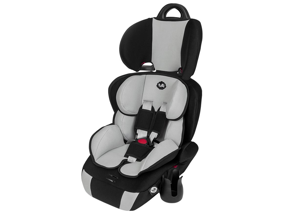 Cadeirinha Carro Versati 9-36kg Cinza Gelo Tutti Baby
