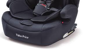 Cadeirinha Safemax Fix Preto Fisher Price 9-36Kg  (I, II, III)