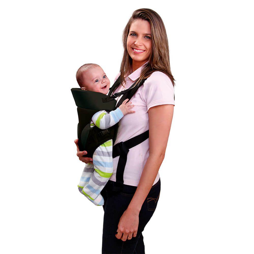 Canguru para Bebê Baby Safe Bordô