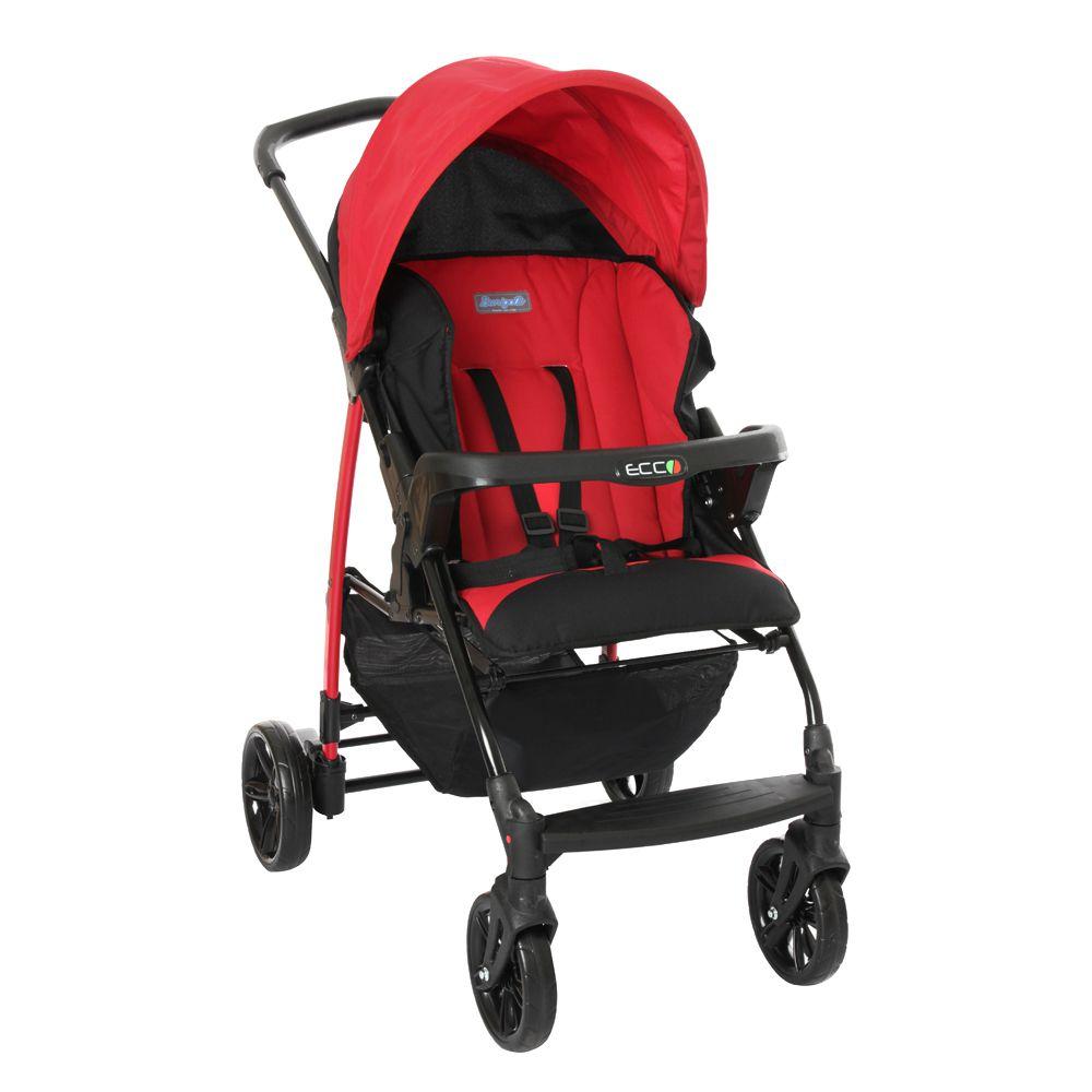 Carrinho Bebê Ecco-Red Burigotto
