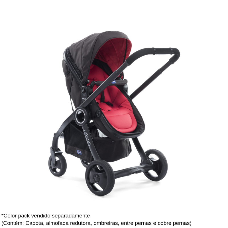 Carrinho Bebê Urban Plus Black Chicco