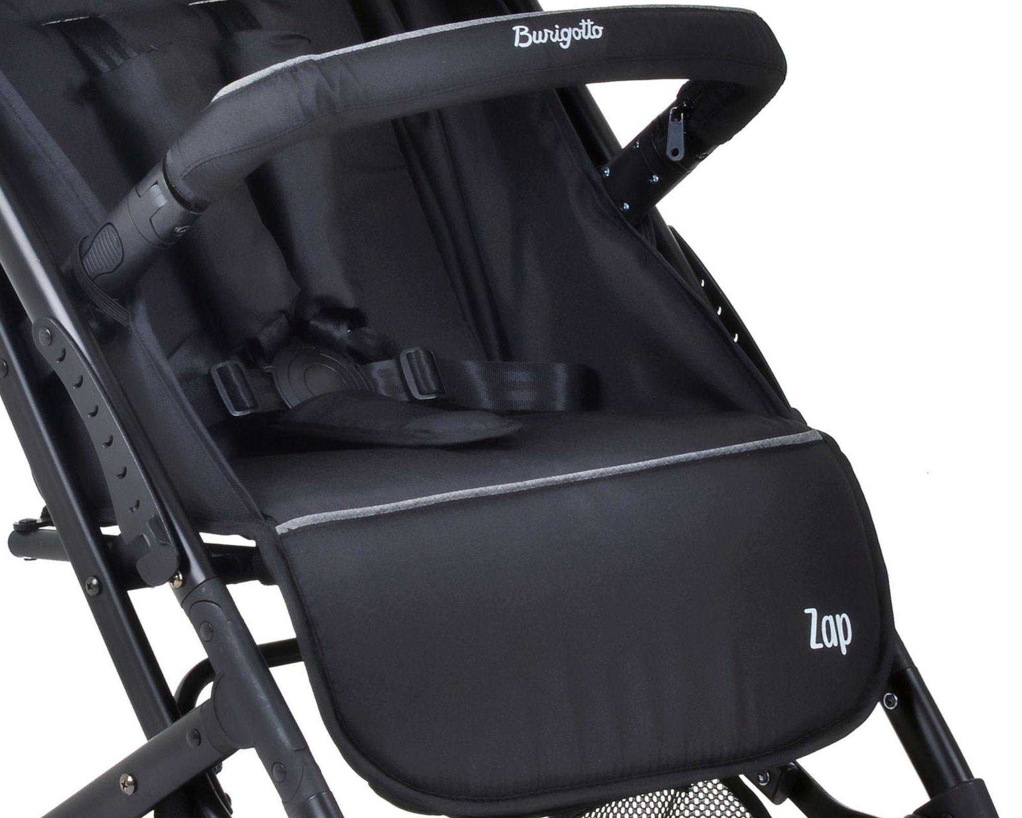 Carrinho de Bebê Burigotto Zap Preto