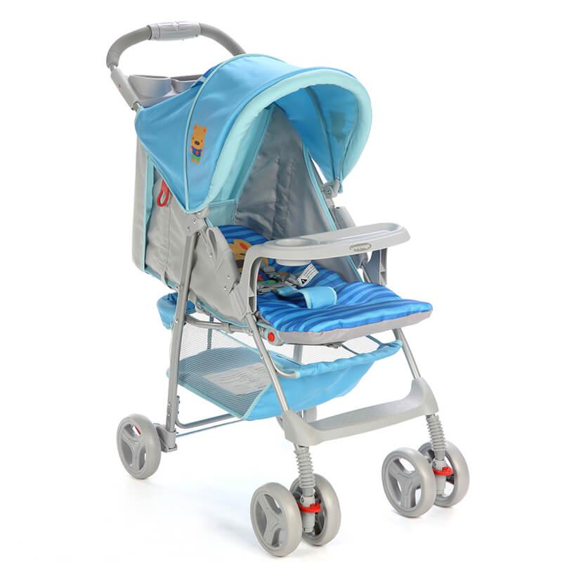 Carrinho de Bebê Fit Voyage Azul Puppy