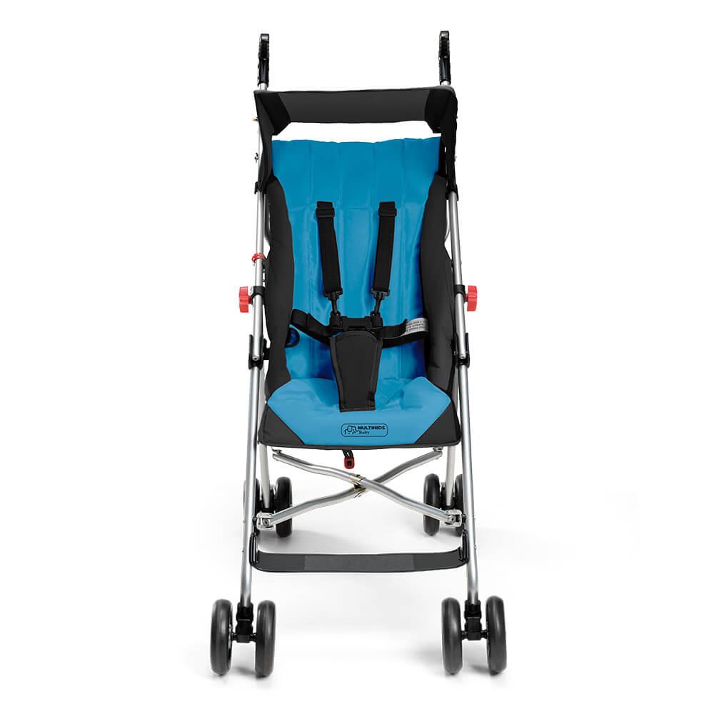 Carrinho De Bebê Guarda-chuva Pocket Azul Multikids