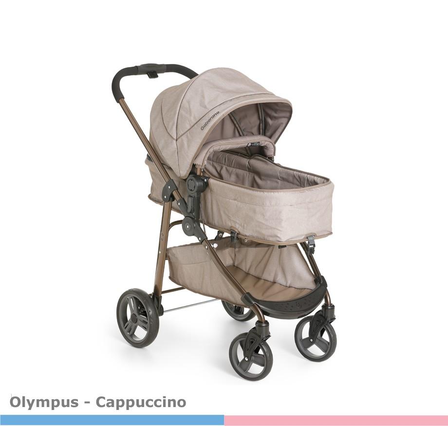 Carrinho de Bebê Olympus Cappuccino Galzerano