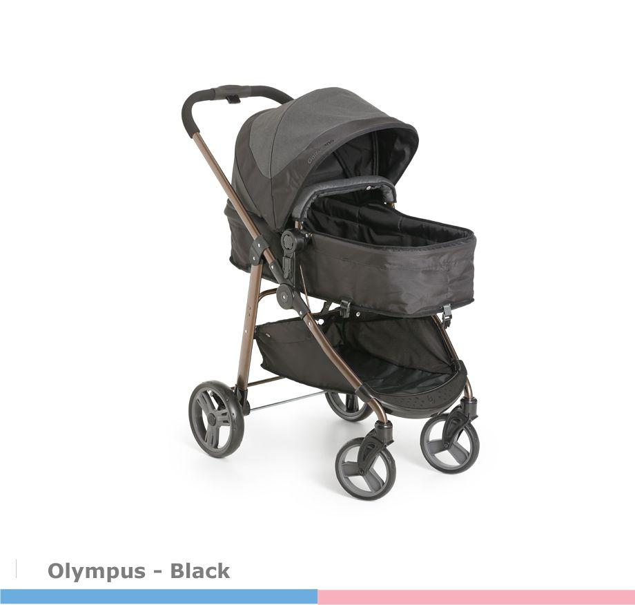 Carrinho de Bebê Olympus Preto Galzerano